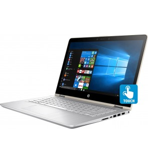 HP Pavilion x360 14-cd0000 14-cd0033tx Touchscreen LCD 2 in 1 Notebook - Intel Core i7 (8th Gen) i7-8550U Quad-core (4 Core) 1.80 GHz - 4 GB DDR4 SDRAM - 1 TB HHD - Windows 10 Home 64-bit - GeForce MX130 with 4 GB DDR3 SDRAM