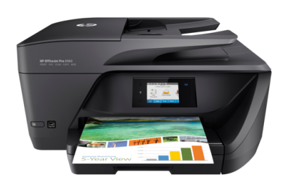 HP OfficeJet Pro 6960 All-in-One Printer (Wireless, Print, Fax, Scan, Copy)(J7K33A)
