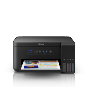 Epson L4150 Wi-Fi All-in-One Ink Tank Printer with Genuine Epson Y series Ink