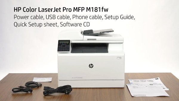 USB cable for HP LASERJET PRO M177fw
