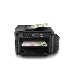 Epson L1455 A3 Wi-Fi Duplex All-in-One Ink Tank Printer comes with original starter inks