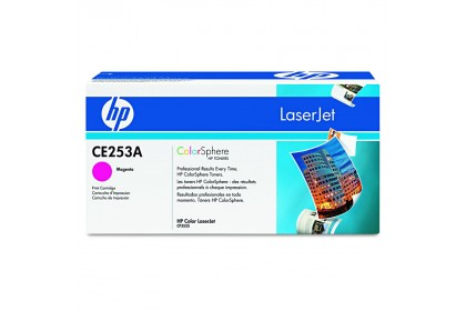 HP 504A (CE253A) Original Toner Cartridge - Magenta - Laser - 7000 Pages - 1 Pack