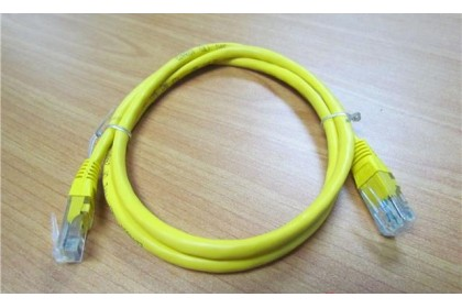 Wiretek CAT5e UTP Patch Cord Cable 1 Meter Yellow