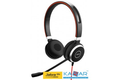 Jabra EVOLVE 40 Wired Stereo Headset USB Mini-phone Music