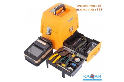 Signalfire SM&MM Automatic FTTH Fiber Optic Welding Splicing Machine Optical Fiber Fusion Splicer AI-7 READY STOCK
