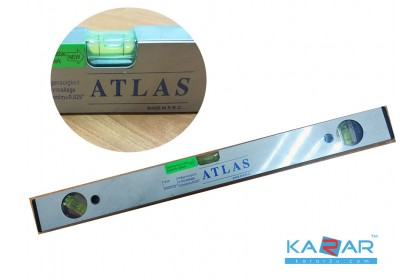 ATLAS Water Ruler Protractor 50 cm / 20 Inch with 2 strong Magnets