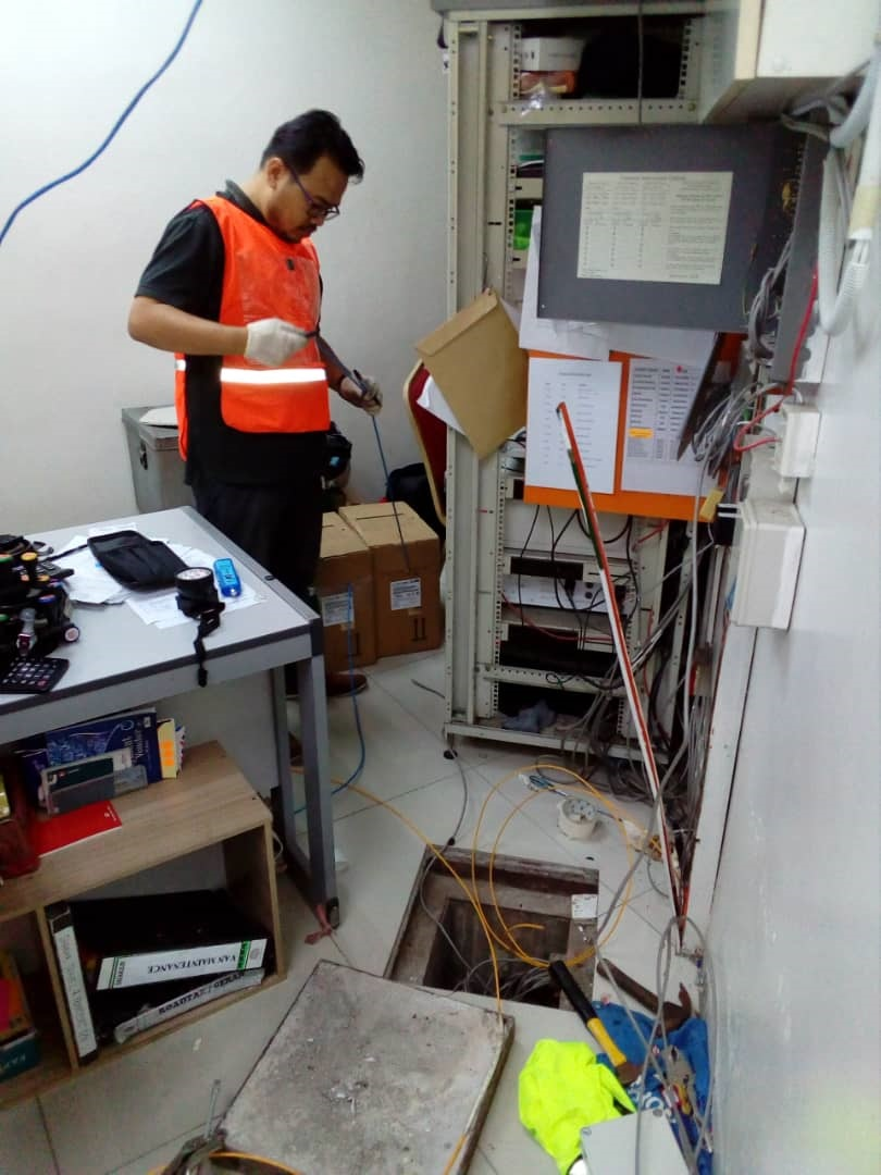 Service - Installation CCTV, Onsite IT Service, Network Cabling cat6, cat5e, Fiber Optic Splicing
